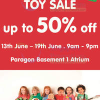 Read more about Early Learning Centre Toy SALE @ Paragon Atrium 13 - 19 Jun 2014