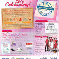 Read more about Plaza Singapura 40th Anniversary Promotions & Activities 30 May - 30 Jun 2014