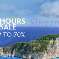 Read more about Expedia Up To 70% OFF 48 Hour SALE 12 - 13 Jun 2014