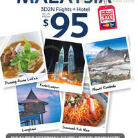 Read more about Expedia Experience Malaysia From $95 3D2N (All-in) (Flights + Hotel) 23 Jun - 6 Jul 2014
