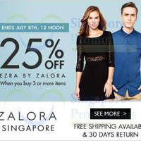 Read more about Ezra 25% OFF Online Promo 1 - 8 Jul 2014