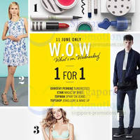 Read more about Fashion Fast Forward 1 For 1 Star Brands Promo 11 Jun 2014
