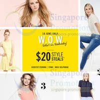 Read more about Dorothy Perkins, Etam & Miss Selfridge $20 Deals One Day Promo 18 Jun 2014