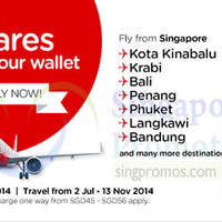 Read more about Air Asia From $5 Promo Air Fares 30 Jun - 6 Jul 2014