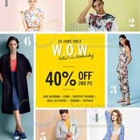 Read more about Fashion Fast Forward Star Brands 40% OFF 2nd Piece One Day Promo 25 Jun 2014