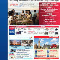 Read more about UOB Travel Fair @ 112 Katong 27 - 29 Jun 2014