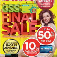 Read more about Watsons One Day SALE For DBS/POSB Cardmembers & Members 25 Jun 2014