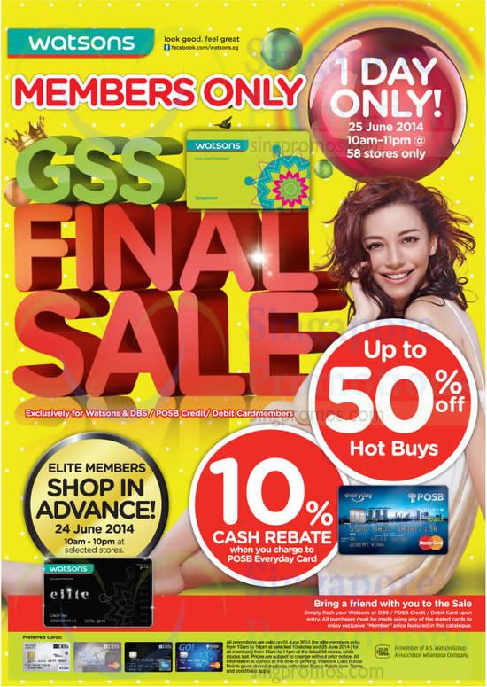 GSS Final Sale