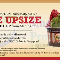 Read more about Gelateria Italia FREE Upsize Promo @ Suntec City 3 - 30 Jun 2014