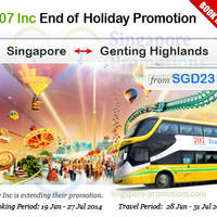 Read more about Genting Highlands From $23 Express Bus Service 21 Jun - 31 Jul 2014