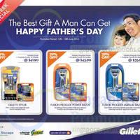 Read more about Gillette 29% OFF Fusion Proglide Shaver Promo 12 - 18 Jun 2014