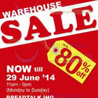 Read more about Giordano Warehouse Sale 11 - 29 Jun 2014