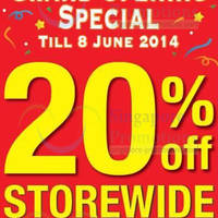 Read more about Giordano 20% OFF Promo @ Lucky Plaza 4 - 8 Jun 2014
