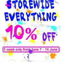 Read more about HMV 10% OFF Storewide Promo @ Marina Square 7 - 14 Jun 2014