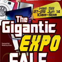 Read more about Harvey Norman Gigantic Expo Sale @ Singapore Expo 27 - 29 Jun 2014