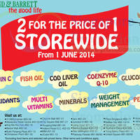 Read more about Holland & Barrett Buy 1 Get 1 FREE Promo 3 Jun 2014