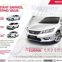 Read more about Honda Civic, Accord, CR-V & Insight Offers 21 Jun 2014