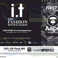 Read more about IT Labels 10% OFF Final Bill @ Orchard Gateway 13 - 22 Jun 2014