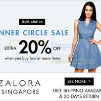 Read more about Inner Circle 20% OFF Weekend Sale 14 - 16 Jun 2014