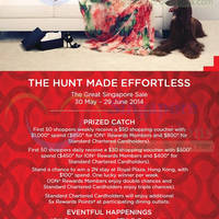 Read more about ION Orchard Hunt Made Effortless Promotions & Activities 30 May - 29 Jun 2014