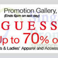 Read more about Isetan Guess Up To 70% OFF Promo @ Isetan Scotts 4 - 10 Jul 2014