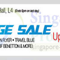 Read more about Isetan Luggage Sale @ Isetan Scotts 27 Jun - 3 Jul 2014