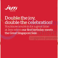 Read more about Jem Great Singapore SALE Promotions & Activities 30 May - 29 Jun 2014