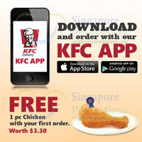 Read more about KFC Delivery FREE 1pc Chicken Promo 2 Jun - 15 Jul 2014