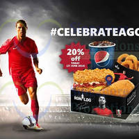 Read more about KFC 20% OFF Zinger Double Down Ronaldo Box One Day Promo 27 Jun 2014