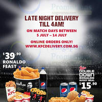Read more about KFC Late Night Delivery Till 4am On World Cup Match Days 5 - 14 Jul 2014