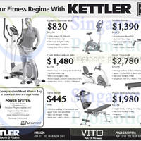 Read more about Kettler Exercise Machines & Gym Equipment Offers 20 Jun 2014