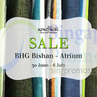 Read more about King Koil SALE @ BHG Bishan 30 Jun - 6 Jul 2014