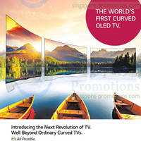 Read more about LG Curved OLED TV 6 Jun 2014