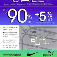 Read more about Link THM Warehouse SALE Up To 90% OFF 19 - 22 Jun 2014
