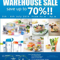 Read more about Lock & Lock Warehouse SALE 3 - 6 Jul 2014
