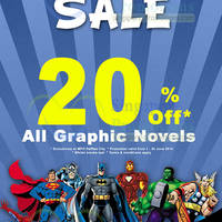 Read more about MPH Bookstores Graphic Novel Sale @ Raffles City 1 - 30 Jun 2014