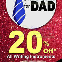Read more about MPH Bookstores 20% OFF Writing Instruments 1 - 30 Jun 2014
