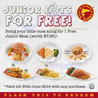 Read more about Manhattan Fish Market FREE Junior Meal With Any Purchase 2 - 30 Jun 2014