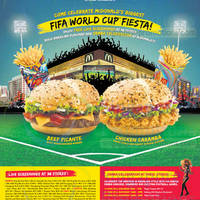 Read more about McDonald's FREE Fifa World Cup Screenings @ 38 Stores 13 Jun - 14 Jul 2014