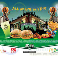 Read more about McDonald's NEW 2014 Fifa World Cup Burgers & More 5 Jun 2014