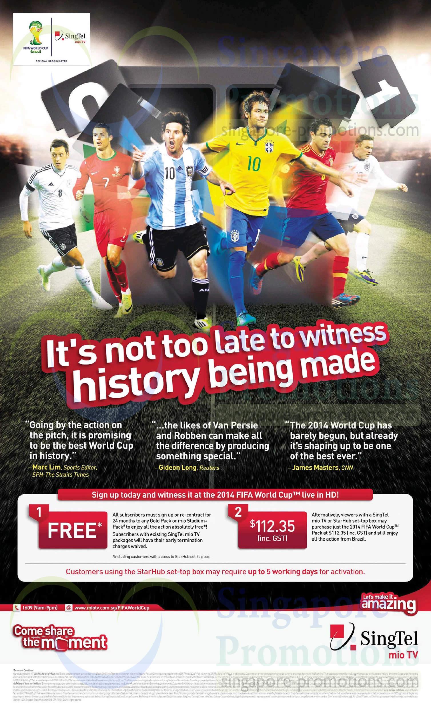 Mio TV 112.35 2014 Fifa World Cup