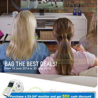 Read more about Samsung Monitors Promotion Offers 16 - 30 Jun 2014