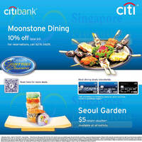 Read more about Moonstone 10% OFF & Seoul Garden Free $5 Return Voucher For Citibank Cardmembers 29 Jun 2014