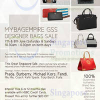 Read more about MyBagEmpire Branded Handbags & Accessories Sale 7 - 8 Jun 2014