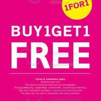 Read more about NET Buy 1 Get 1 FREE $13.90 & $19.90 Range Promo 25 Jun 2014