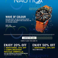 Read more about Nautica Watches Up To 50% OFF 10 - 30 Jun 2014