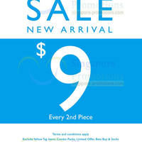 Read more about NET New Arrivals $9 2nd Piece Promo 16 Jun 2014