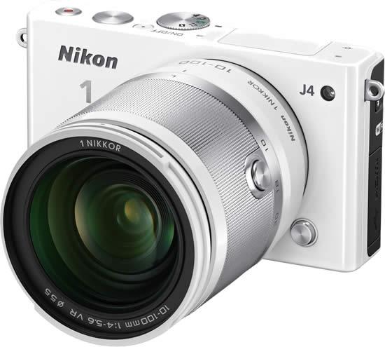 Nikon 1 J4 White