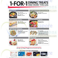 Read more about OCBC 1-for 1 Dining Treats 6 Jun 2014