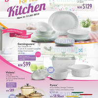 Read more about World Kitchen Corningware, Corelle & More Offers 17 Jun - 13 Jul 2014
